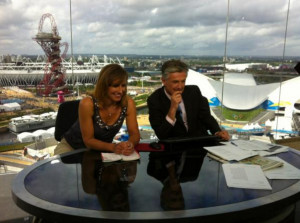 BBC news, London Olympic Rowing, Rebecca Caroe,