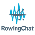rowing chat logo, rowing podcast