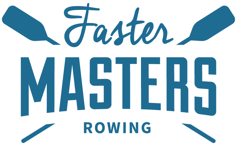 faster masters rowing logo