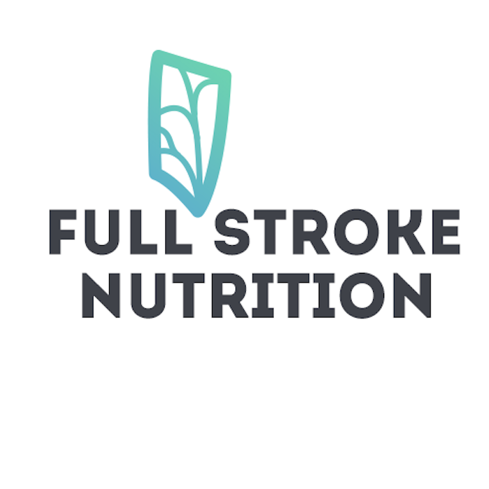 Full Stroke Nutrition logo, rowing podcast nutrition, Lillian Morton rowing nutrition